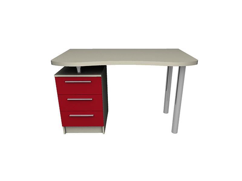 Купить стол письменный радиусный 1200х650х750 в киеве, цены .
