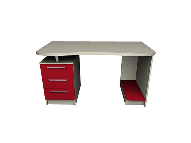 Купить стол письменный радиусный 1400х700х750 в киеве, цены .